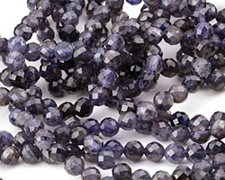 Iolite (A) Faceted Round 5mm