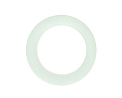 Seafoam Recycled Glass Ring 27mm