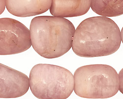 Kunzite & Morganite Tumbled Nugget 15-22x12-19mm