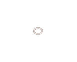 TierraCast Silver (plated) Oval Jump Ring 5x4mm, 20 gauge