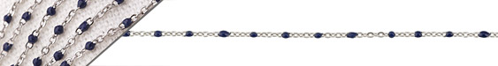 Stainless Steel Navy Small Cable Chain