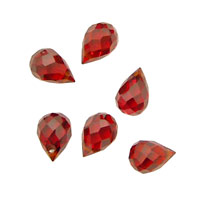 Salsa Faceted Teardrop 6x9mm