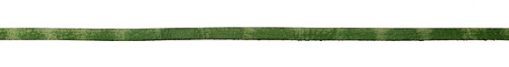 Green Vintage Flat Leather Cord 5mm