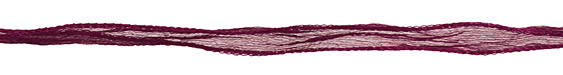 Burgundy Fairy Silk Ribbon 1/2""