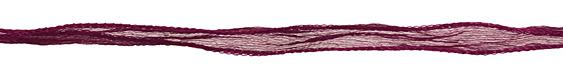 "Burgundy Fairy Silk Ribbon 1/2"""