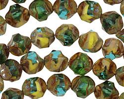 Czech Glass Sunny Coast Chandelier Cut 8mm