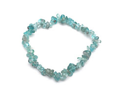 Apatite Chips Stretch Bracelet