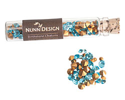 Nunn Design Aquamarine Crystal Chaton 5g