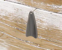Concrete Acrylic Shell Drop 15x35mm