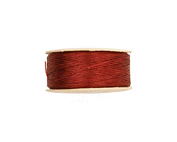 Nymo Shoe Red Size D (0.3mm) Thread