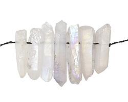 Crystal AB Quartz Point Focal Set 6-8x23-33mm