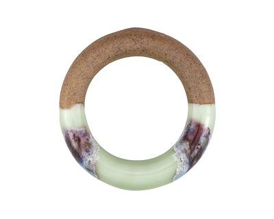 Meadow Half-Glazed Porcelain Ring Focal 47-50mm