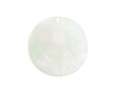 Zola Elements Green Opal Acetate Coin Focal 30mm