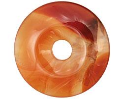 Carnelian Donut 40mm