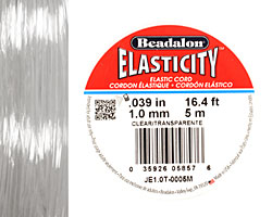 Elasticity Clear 1.0mm, 5 meters