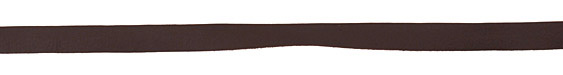 Chocolate Deertan Leather Lace 10mm
