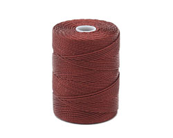 C-Lon Black Currant (.5mm) Bead Cord