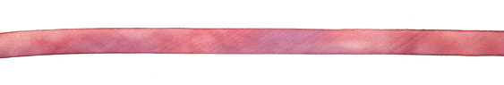 """Victorian Rose Hand Dyed 100% Silk Ribbon 7/16"""""""