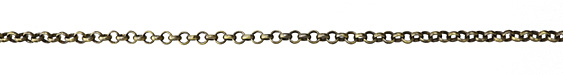 Antique Brass (plated) Rolo Chain (bulk discount)
