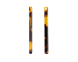 Zola Elements Tortoise Shell Acetate Stick Drop 3x39mm