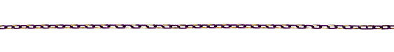 Neo Purple Oval Cut Cable Chain 5x3mm