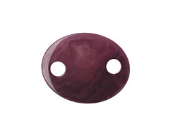 Tagua Nut Grape Oval Link 24x19mm