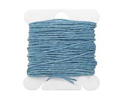 Turquoise Irish Waxed Linen 3 ply