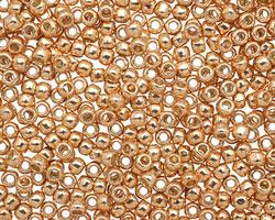 TOHO Permanent Galvanized Rose Gold Round 8/0 Seed Bead