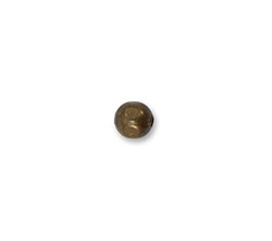 Vintaj Natural Brass Large Hole Round 6.3mm