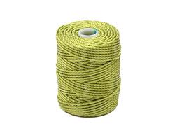 C-Lon Chartreuse Tex 400 (1mm) Bead Cord