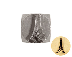Eiffel Tower Metal Stamp 6mm