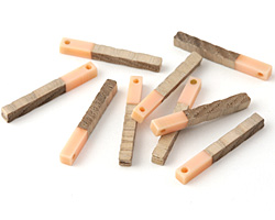 Wood & Angel Skin Resin Stick Drop 3.5x30mm