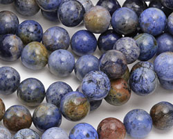 Sunset Dumortierite (rich color) Round 10mm