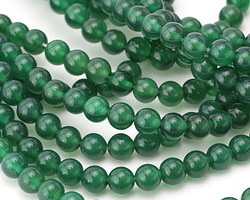 Green Agate Round 6mm