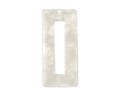 Zola Elements Pearl Acetate Rectangle Donut 22x49mm
