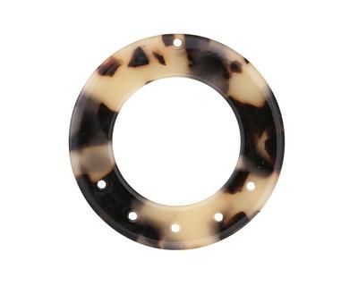 Zola Elements Light Tortoise Shell Acetate Donut Chandelier 38mm