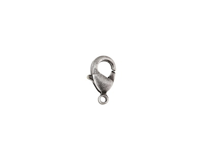Antique Silver (plated) Lobster Clasp 5x9mm