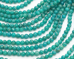 Russian Amazonite Round 4mm