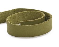 """TierraCast Avocado Leather Strap 10"""" x 1/2"""""""