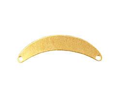 Brass Arch Blank Link 32x8mm