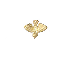 Zola Elements Satin Gold (plated) Bird in Flight Charm 15x12mm
