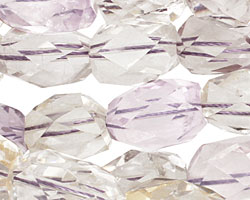 Ametrine (light) Faceted Barrel 15-18x11-13mm