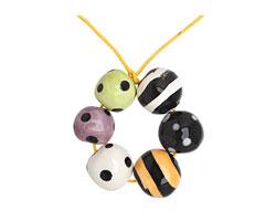 Jangles Ceramic Halloween Bead Set 12-15mm