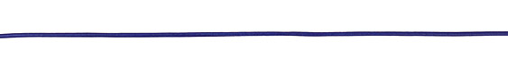 Royal Blue Round Leather Cord 2mm