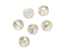 Jonquil Faceted Round 10mm