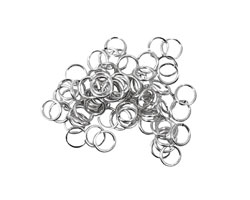 Artistic Wire Non-Tarnish Silver Chain Maille Jump Ring 4.76mm, 20 gauge
