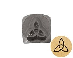 Celtic Knot Metal Stamp 5mm