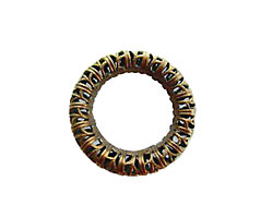 Vintaj Natural Brass Filigree Ring 24mm