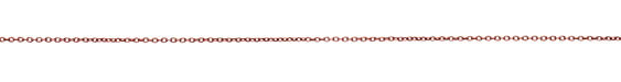 Rose Gold (plated) Cable Chain