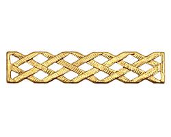 Brass Latticework Bar 10x49mm